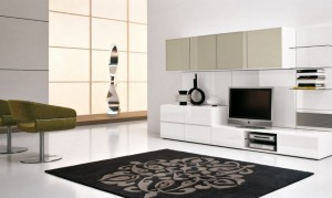 Awesome-White-Themed-Living-Room-Design-with-Modern-White-Colored-TV-Wall-Unit