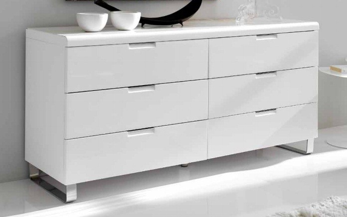 Commode Design Blanche commode blanc laqué conforama. meubles rangement commodes commode 39