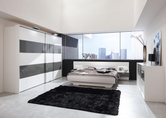 Schlafzimmer Schwarz Weiß Grau | gispatcher.com